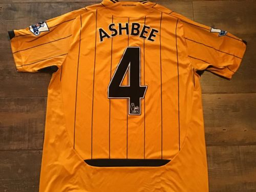 2009 2010 Hull City Ashbee Home Football Shirt Large